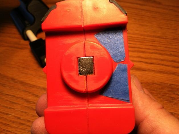 Makerscanner相机和激光器连接架 3D模型  图3