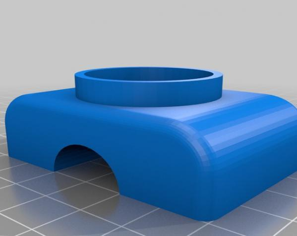 Makerscanner相机和激光器连接架 3D模型  图7