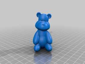 泰迪熊 3D模型