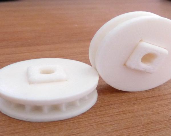 极谱仪链轮 3D模型  图3