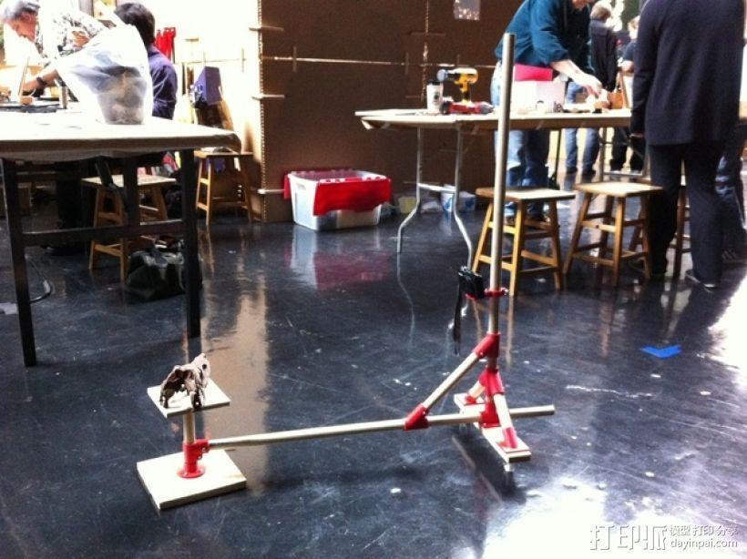 相机架 3D模型  图1