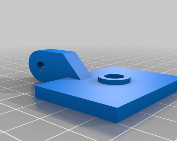 相机架 3D模型  图3