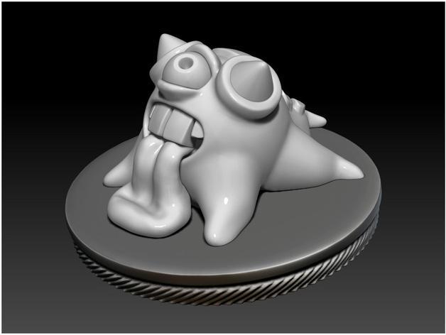 怪物宠物Blobby 3D模型  图3