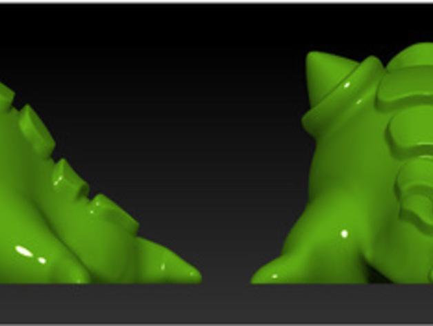 怪物宠物Blobby 3D模型  图4