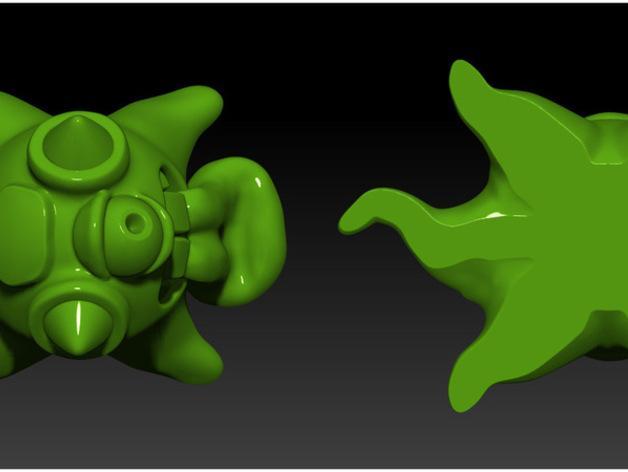 怪物宠物Blobby 3D模型  图5