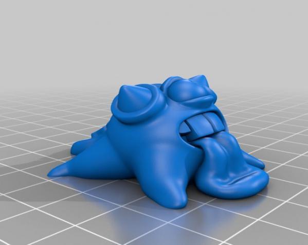 怪物宠物Blobby 3D模型  图6