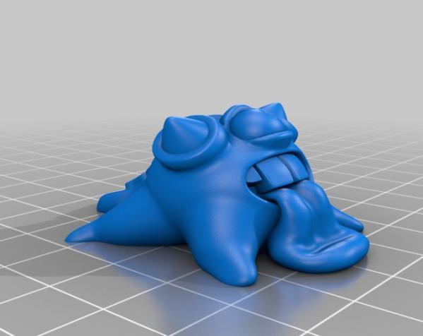 怪物宠物Blobby 3D模型  图8