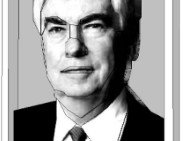 克里斯多夫·杜德肖像 3D模型  图3