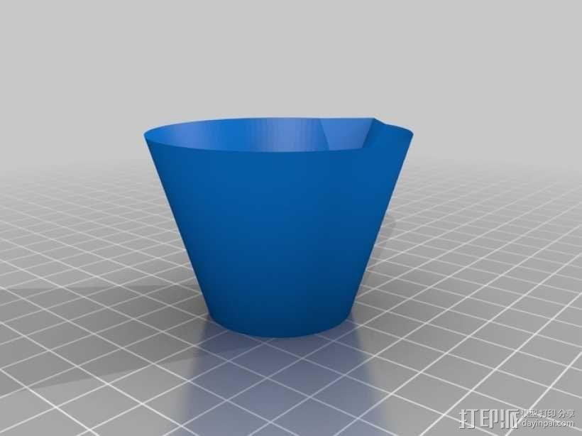 石膏搅拌 碗 3D模型  图1