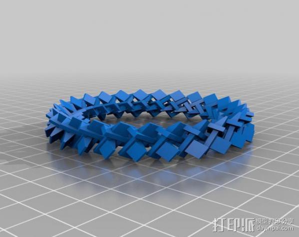 几何圆环 3D模型  图3