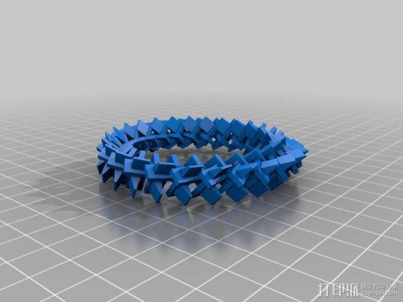 几何圆环 3D模型  图1