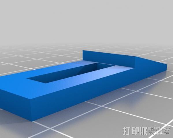 几何圆环 3D模型  图2