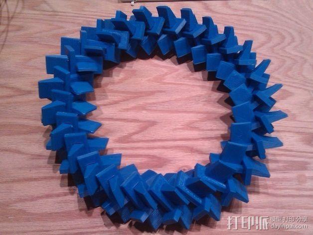 几何圆环 3D模型  图5