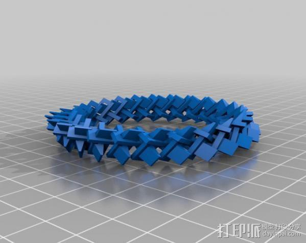 几何圆环 3D模型  图4