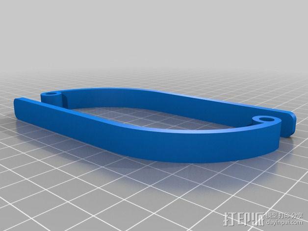 摄影扫描底座 3D模型  图2