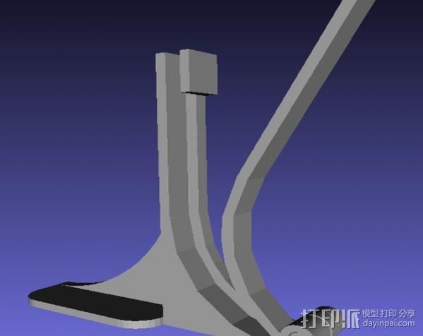 摄影扫描底座 3D模型  图3
