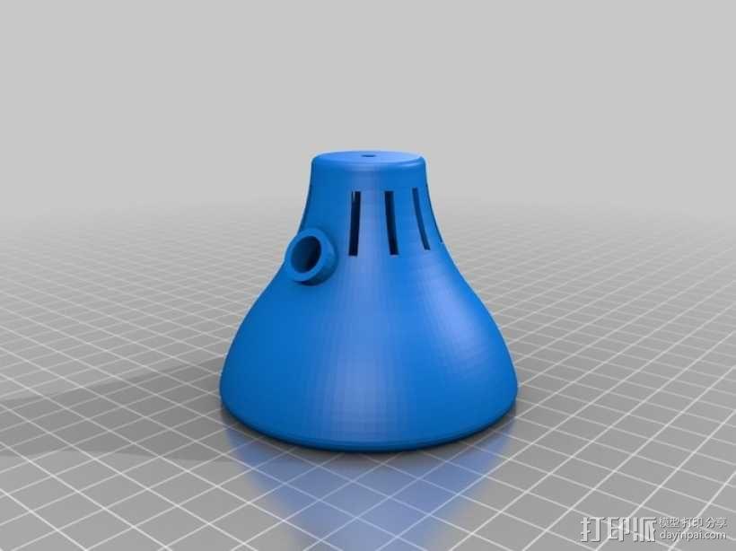 迷你台灯 3D模型  图2