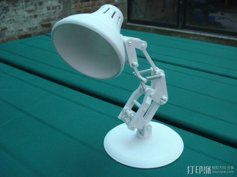 迷你台灯 3D模型  图1
