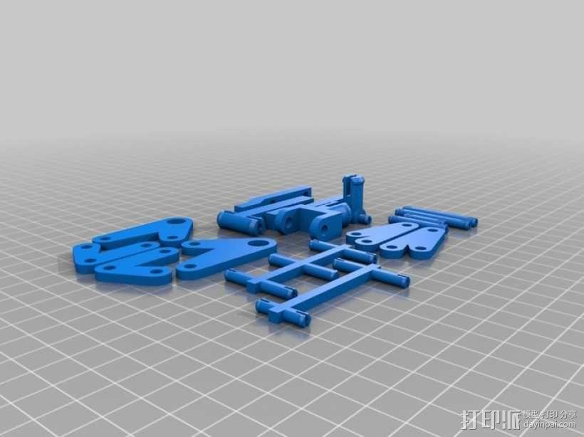 迷你台灯 3D模型  图4