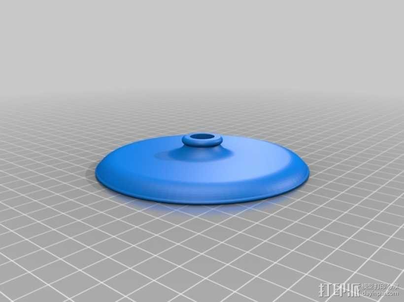 迷你台灯 3D模型  图3