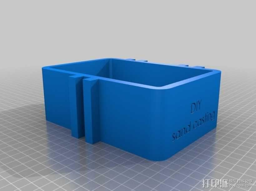 砂模铸造套件 3D模型  图3
