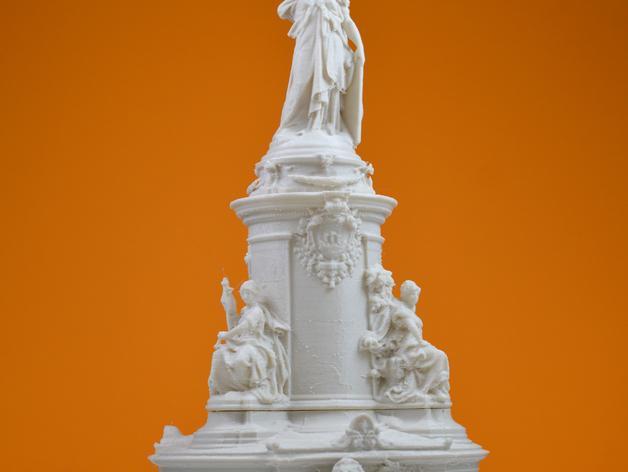 巴黎协和广场 3D模型  图1