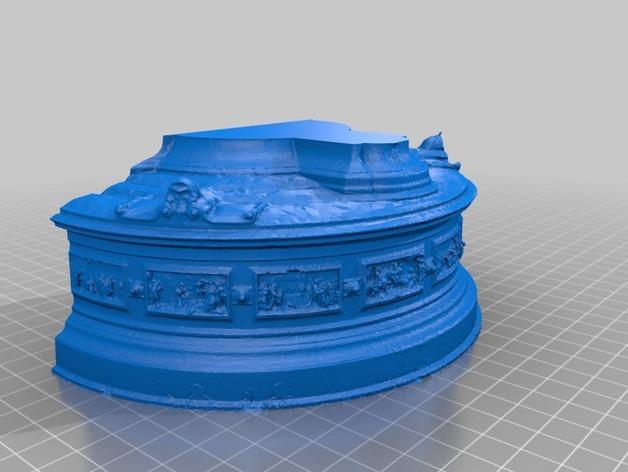 巴黎协和广场 3D模型  图3