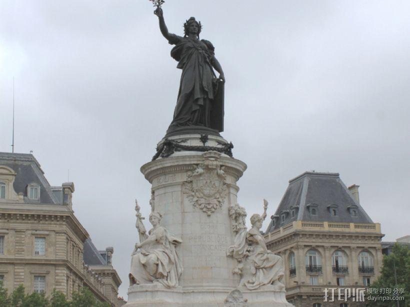 巴黎协和广场 3D模型  图8