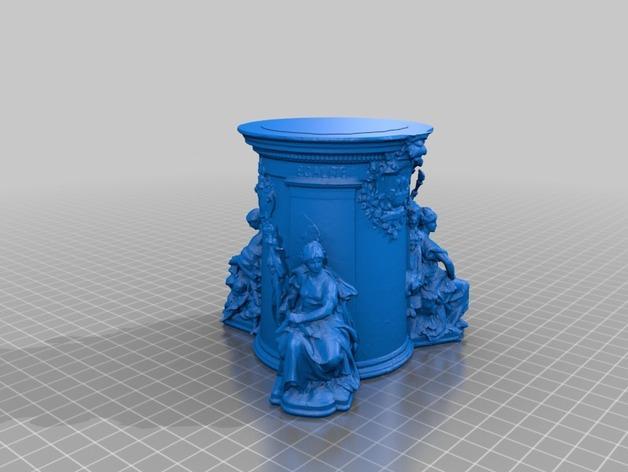 巴黎协和广场 3D模型  图5