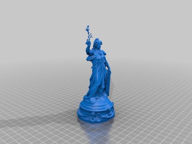 巴黎协和广场 3D模型  图7