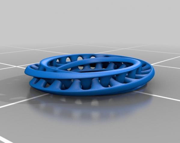 Mobius手环 3D模型  图2