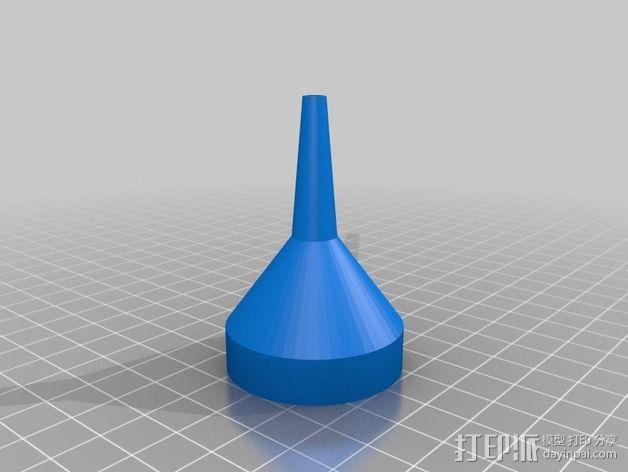 长颈漏斗 3D模型  图5