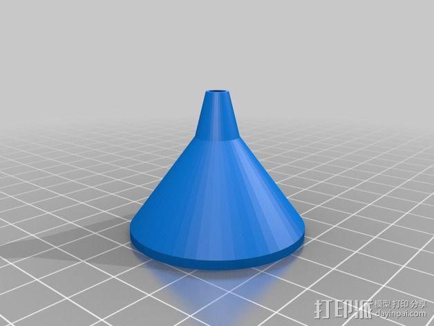 长颈漏斗 3D模型  图4