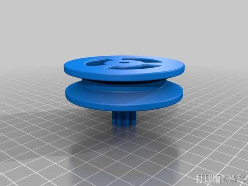 岩石滚揉机 3D模型  图11
