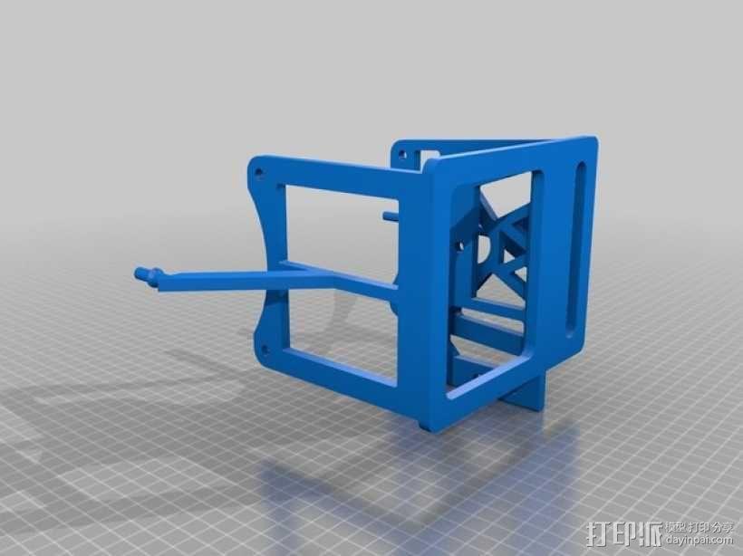 岩石滚揉机 3D模型  图10
