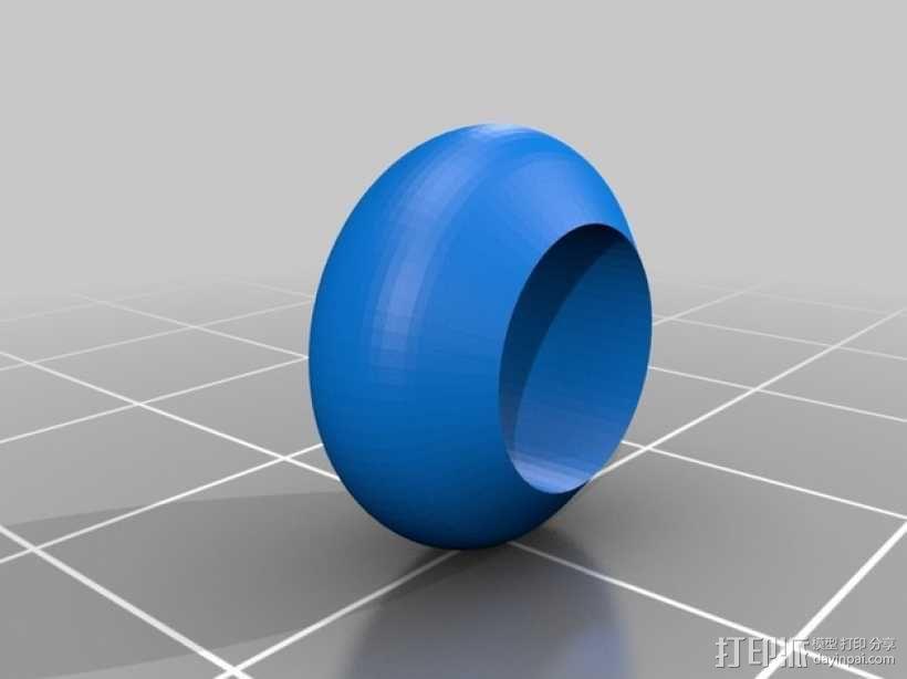 岩石滚揉机 3D模型  图15
