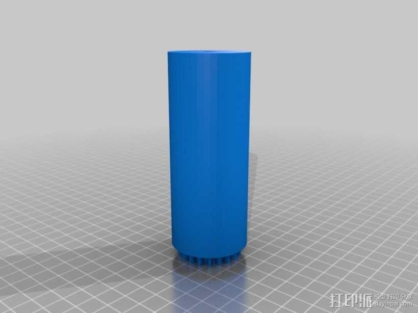 岩石滚揉机 3D模型  图13