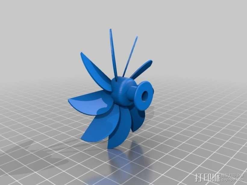 岩石滚揉机 3D模型  图18