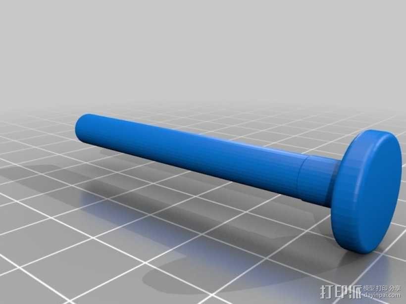 岩石滚揉机 3D模型  图17