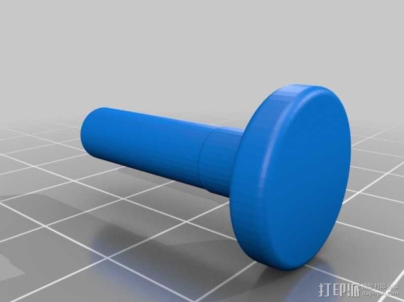 岩石滚揉机 3D模型  图16