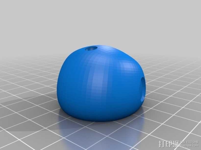 雪人奥拉夫 3D模型  图10
