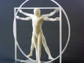 维特鲁威人 模型 3D模型