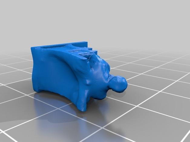 达尔文雕塑 3D模型  图3