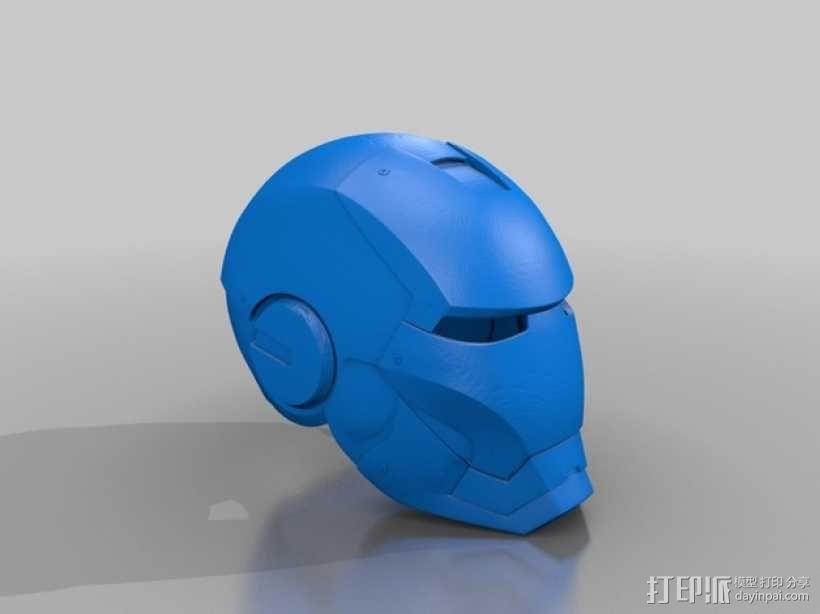 钢铁侠MK3头盔 3D模型  图1