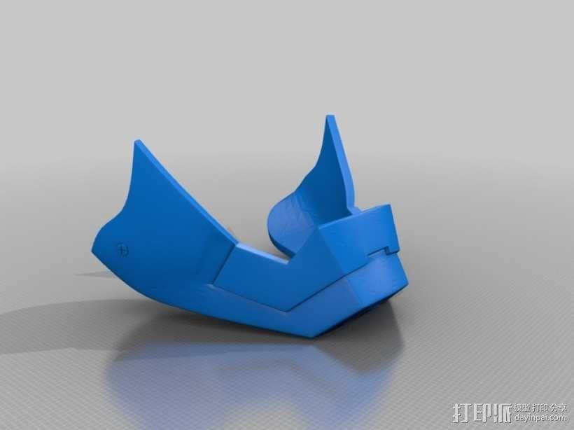 钢铁侠MK3头盔 3D模型  图3