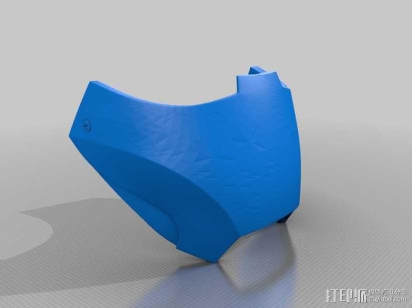 钢铁侠MK3头盔 3D模型  图4