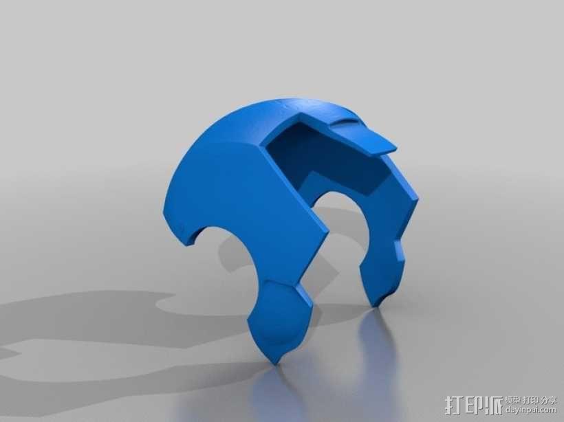 钢铁侠MK3头盔 3D模型  图6