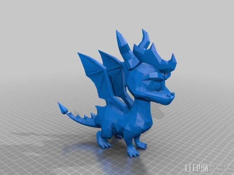 Spyro斯派洛 模型 3D模型  图2