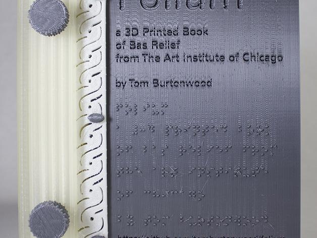 3D打印 盲文书 3D模型  图7