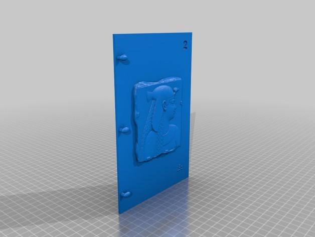 3D打印 盲文书 3D模型  图19